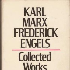 Libros de segunda mano: MARX-ENGELS COLLECTED WORKS 1849-1851 - MARX, KARL & ENGELS, FREDERICK 1978. Lote 88491560