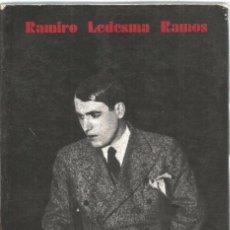 Libros de segunda mano: RAMIRO LEDESMA RAMOS. DISCURSO A LAS JUVENTUDES DE ESPAÑA. Lote 88891528