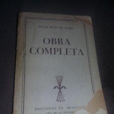 Libros de segunda mano: JULIO RUIZ DE ALDA OBRA COMPLETA 1939 EDICIONES FE REF. EST. 157. Lote 89188496
