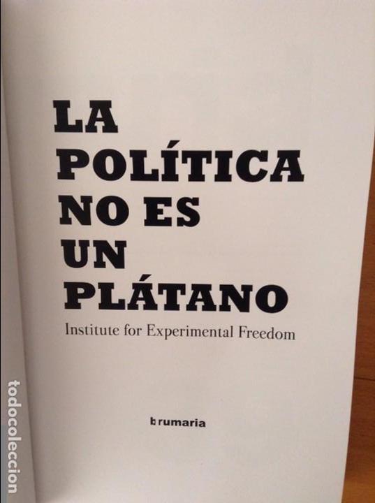 Libros de segunda mano: POLITICS IS NOT A BANANA // LA POLÍTICA NO ES UN PLÁTANO - Foto 3 - 90093748