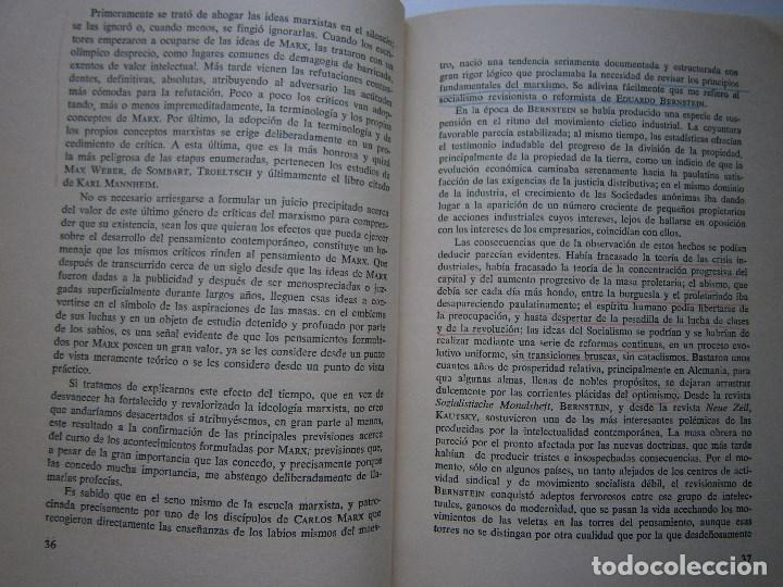 Libros de segunda mano: MARXISMO Y ANTIMARXISMO Julian Besteiro Editorial Pablo Iglesias 1966 - Foto 10 - 90543255