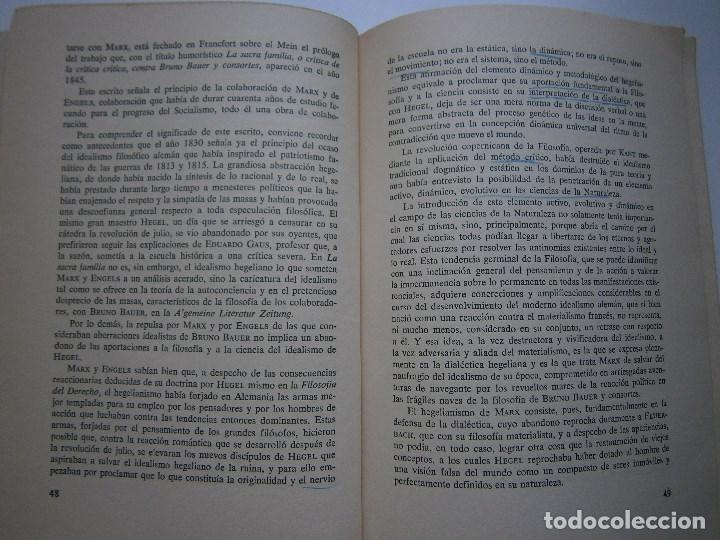 Libros de segunda mano: MARXISMO Y ANTIMARXISMO Julian Besteiro Editorial Pablo Iglesias 1966 - Foto 11 - 90543255