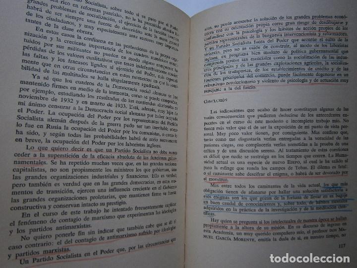 Libros de segunda mano: MARXISMO Y ANTIMARXISMO Julian Besteiro Editorial Pablo Iglesias 1966 - Foto 13 - 90543255