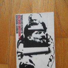 Libros de segunda mano: EL MARXISMO SOVIETICO, HERBERT MARCUSE, ALIANZA EDITORIAL. Lote 93654485