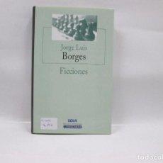 Libros de segunda mano: LIBRO - FICCIONES - JORGE LUIS BORGES - 1941. Lote 95739059