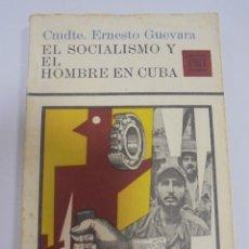 Libros de segunda mano: EL SOCIALISMO Y EL HOMBRE EN CUBA. CMDTE. ERNESTO GUEVARA. CUADERNOS ERRE. ILUSTRADO. VER. Lote 96214559