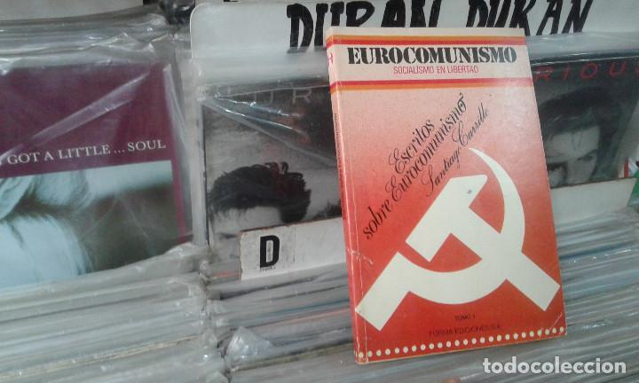 ESCRITOS SOBRE EUROCOMUNISMO (COLECCION EUROCOMUNISMO, SOCIALISMO EN LIBERTAD) SANTIAGO CARRILLO (Libros de Segunda Mano - Pensamiento - Política)