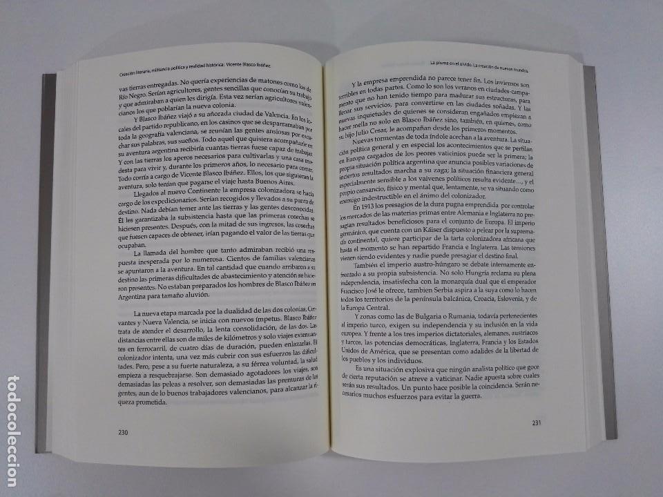 Libros de segunda mano: Creación literaria, militancia política y realidad histórica: Vicente Blasco Ibáñez - Foto 5 - 97681179