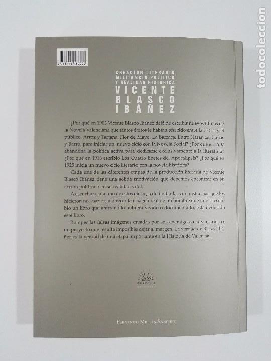 Libros de segunda mano: Creación literaria, militancia política y realidad histórica: Vicente Blasco Ibáñez - Foto 6 - 97681179