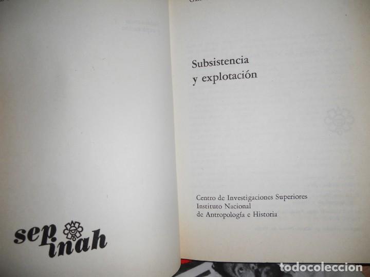 Libros de segunda mano: LOS CAMPESINOS DE LA TIERRA DE ZAPATA,2..1974. - Foto 2 - 98128783