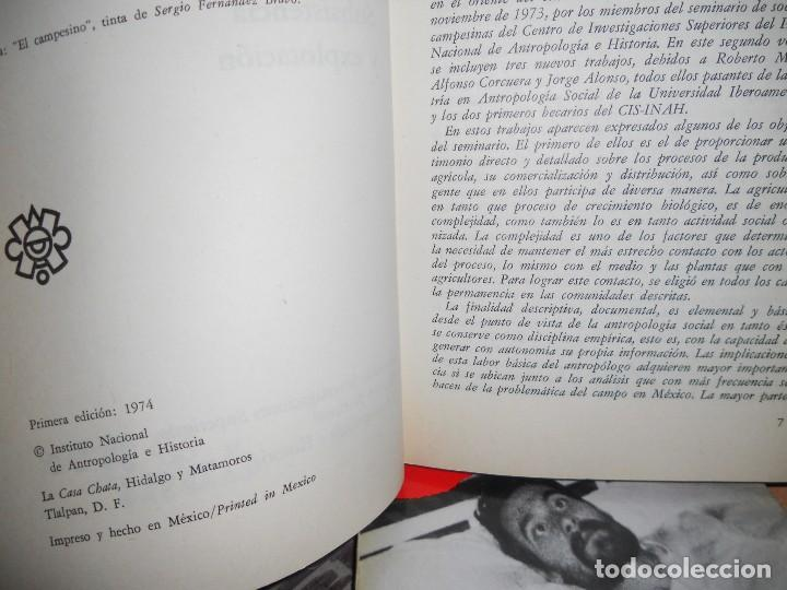 Libros de segunda mano: LOS CAMPESINOS DE LA TIERRA DE ZAPATA,2..1974. - Foto 3 - 98128783