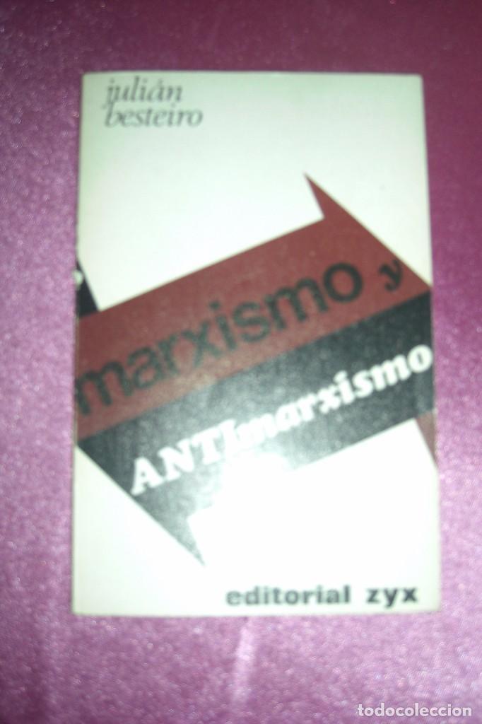 MARXISMO Y ANTIMARXISMO - BESTEIRO, JULIÁN 1968 MADRID BIBLIOTECA PROMOCION DEL PUEBLO (Libros de Segunda Mano - Pensamiento - Política)