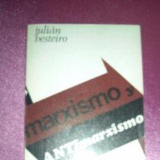 Libros de segunda mano: MARXISMO Y ANTIMARXISMO - BESTEIRO, JULIÁN 1968 MADRID BIBLIOTECA PROMOCION DEL PUEBLO. Lote 98253827