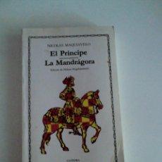 Libros de segunda mano: EL PRINCIPE DE MAQUIAVELO. Lote 98381607