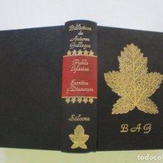 Libros de segunda mano: PABLO IGLESIAS. ESCRITOS Y DISCURSOS. ANTOLOGÍA CRÍTICA. RMT83641. . Lote 100017699