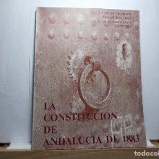 Libros de segunda mano: LA CONSTITUCION DE ANDALUCIA DE 1883 - 1978.. Lote 101158291