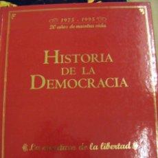 Libros de segunda mano: HISTORIA DE LA DEMOCRACIA 1975-1995..20 AÑOS DE NUESTRA VIDA. Lote 101191935