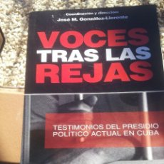 Libros de segunda mano: VOCES TRAS LAS REJAS. Lote 103278359
