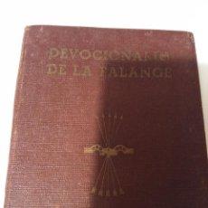 Libros de segunda mano: DEVOCIONARIO DE LA FALANGE. Lote 104604851