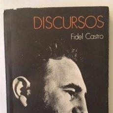 Libros de segunda mano: FIDEL CASTRO - DISCURSOS - INSTITUTO CUBANO DEL LIBRO, 1976. Lote 105106511