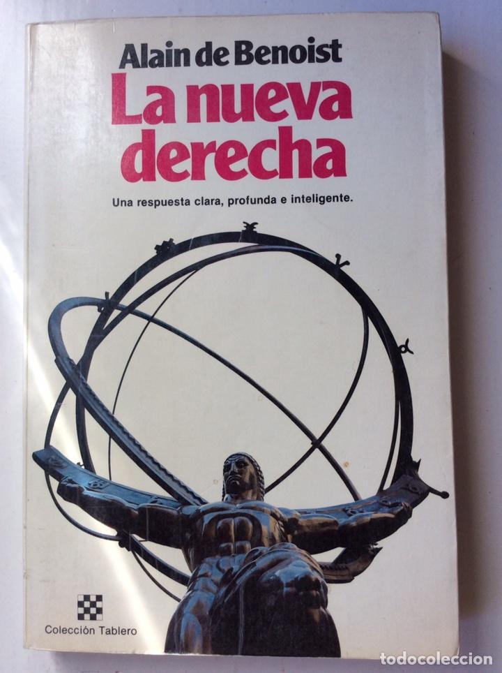 LA NUEVA DERECHA. ALAIN DE BENOIST. PLANETA. 1982 (Libros de Segunda Mano - Pensamiento - Política)