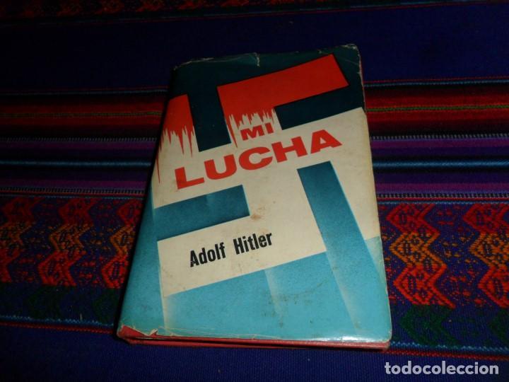 MI LUCHA MEIN KAMPF DE ADOLF HITLER. EDITORIAL ÉPOCA 1979. MÉXICO. CON SOBRECUBIERTA. RARA. (Libros de Segunda Mano - Pensamiento - Política)