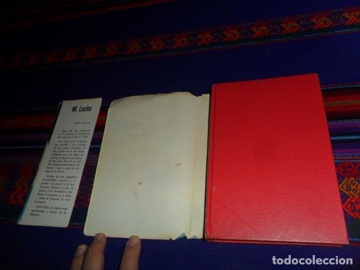 Libros de segunda mano: MI LUCHA MEIN KAMPF DE ADOLF HITLER. EDITORIAL ÉPOCA 1979. MÉXICO. CON SOBRECUBIERTA. RARA. - Foto 2 - 105905331