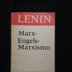 Libros de segunda mano: MARX-ENGELS-MARXISMO. LENIN. Lote 105972555