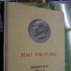 Libros de segunda mano: MAO TSE TUNG / PROBLEMAS DE LA COOPERACION AGRICOLA - 1966 - DE LIBRERIA SIN USAR !!!. Lote 106030083