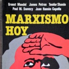 Libros de segunda mano: MARXISMO HOY * SWEEZY PAUL M Y VARIOS. Lote 106533791
