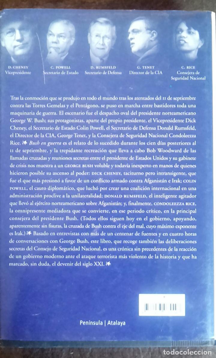 Libros de segunda mano: BUSH EN GUERRA - BOB WOODWARD - Foto 2 - 107190023
