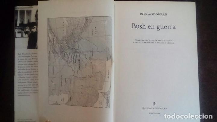 Libros de segunda mano: BUSH EN GUERRA - BOB WOODWARD - Foto 3 - 107190023