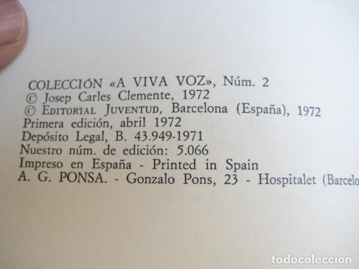 Libros de segunda mano: JOSEP CARLES CLEMENTE - CONVERSACIONES SOBRE PRESENTE Y FUTURO POLITICO DE ESPAÑA - POLITICA - Foto 3 - 107298183