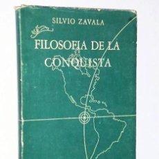 Libros de segunda mano: LA FILOSOFÍA POLÍTICA EN LA CONQUISTA DE AMÉRICA. Lote 107318455