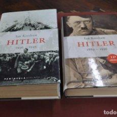 Libros de segunda mano: HITLER 1889-1936 Y 1936-1945 - IAN KERSHAW - APB. Lote 107563123