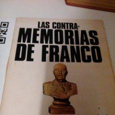 Libros de segunda mano: LAS CONTRAMEMORIAS DE FRANCO. Lote 107868183