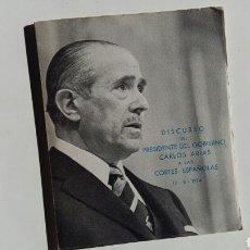Libros de segunda mano: (SEVILLA) DISCURSO ARIAS NAVARRO 1974. Lote 108697704