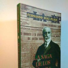 Libros de segunda mano: LA SAGA DE LOS MAURA. DÍAZ-PLAJA, FERNANDO. NIHIL OBSTAT EDICIONES, 1ª ED. AÑO 2000. ISBN 849309267. Lote 109740183