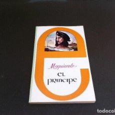 Libros de segunda mano: MAQUIAVELO. EL PRÍNCIPE. ED. MEDITERRÁNEO, 1981. Lote 109902927