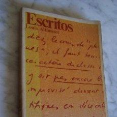 Libros de segunda mano: ESCRITOS (1968-1970). LOUIS ALTHUSSER. EDITORIAL LAIA, 1974.. Lote 110873403