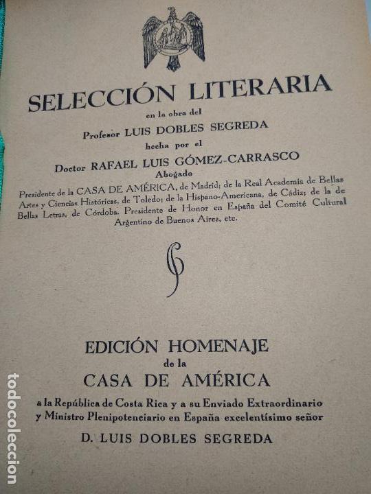 Libros de segunda mano: SELECCIÓN LITERARIA EN LA OBRA DEL PROFESOR RAFAEL LUIS GÓMEZ-CARRASCO - FIRMADO - MADRID - 1941 - - Foto 4 - 113336539