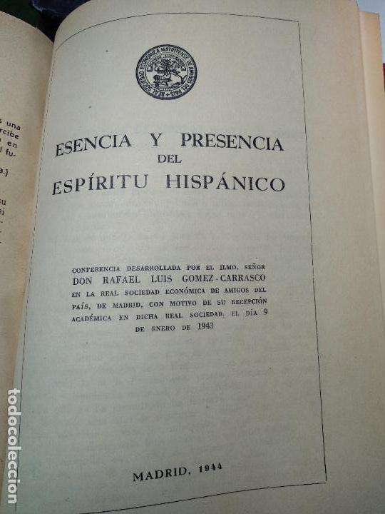 Libros de segunda mano: SELECCIÓN LITERARIA EN LA OBRA DEL PROFESOR RAFAEL LUIS GÓMEZ-CARRASCO - FIRMADO - MADRID - 1941 - - Foto 16 - 113336539