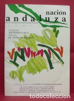 REVISTA NACION ANDALUZA Nº 5. UNA REVISTA PARA EL DEBATE. - A-NAN-116. (Libros de Segunda Mano - Pensamiento - Política)
