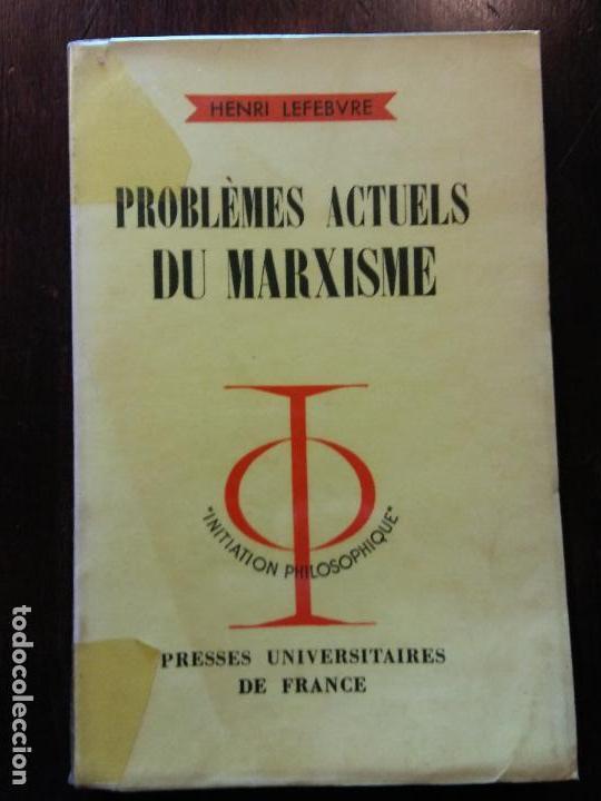 HOS. PROBLEMAS ACTUALES DEL MAXISMO. EN FRANCES. BRUMART TU LIBRERIA (Libros de Segunda Mano - Pensamiento - Política)