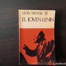 Libros de segunda mano: EL JOVEN LENIN. LEÓN TROTSKI. Lote 117179102