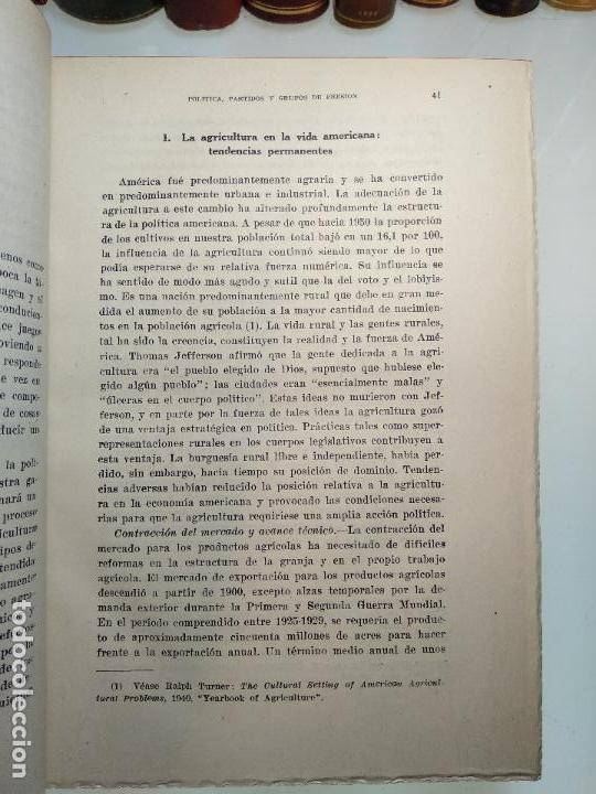 Libros de segunda mano: POLÍTICA, PARTIDOS Y GRUPOS DE PRESIÓN - V.O, KEY, JR. - INST. DE ESTUDIOS POLÍTICOS - MADRID - 1962 - Foto 4 - 117611415