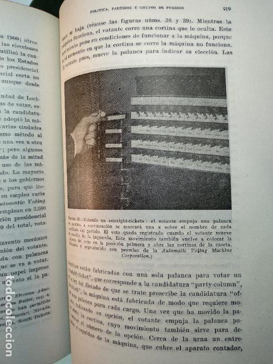 Libros de segunda mano: POLÍTICA, PARTIDOS Y GRUPOS DE PRESIÓN - V.O, KEY, JR. - INST. DE ESTUDIOS POLÍTICOS - MADRID - 1962 - Foto 5 - 117611415