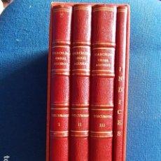 Libros de segunda mano: DISCURSOS Y DECLARACIONES DEL MINISTRO DE ASUNTOS EXTERIORES D. MARCELINO OREJA AGUIRRE 4 VOLUMENES. Lote 117622359