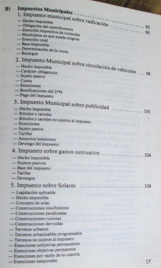 Libros de segunda mano: ALIANZA POPULAR - Manual normativa municipal -Temas estructurales y formativos - Madrid 1983 - Foto 5 - 117780483
