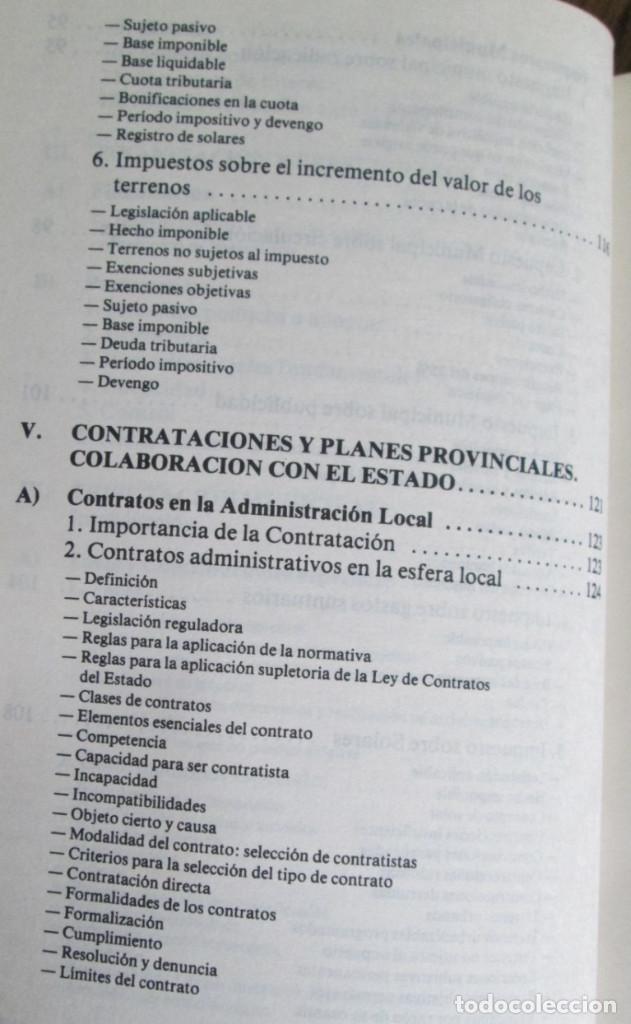 Libros de segunda mano: ALIANZA POPULAR - Manual normativa municipal -Temas estructurales y formativos - Madrid 1983 - Foto 6 - 117780483